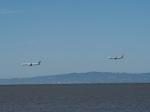 hana父さんが、サンフランシスコ国際空港で撮影したユナイテッド航空の航空フォト(写真)
