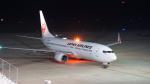 kuhさんが、秋田空港で撮影した日本航空 737-846の航空フォト(写真)