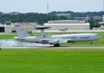 じーく。さんが、嘉手納飛行場で撮影したアメリカ空軍 E-3C Sentry (707-300)の航空フォト(写真)