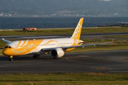 ○○●●さんが、関西国際空港で撮影したスクート (〜2017) 787-9の航空フォト(飛行機 写真・画像)