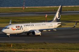 ○○●●さんが、関西国際空港で撮影した山東航空 737-85Nの航空フォト(飛行機 写真・画像)