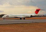 ふじいあきらさんが、広島空港で撮影した日本航空 MD-90-30の航空フォト(飛行機 写真・画像)