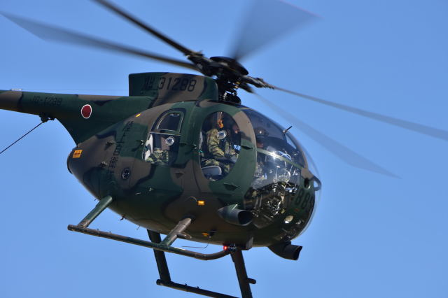 canaanさんが、新発田駐屯地で撮影した陸上自衛隊 OH-6Dの航空フォト(飛行機 写真・画像)