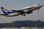サボリーマンさんが、松山空港で撮影したANAウイングス 737-5L9の航空フォト(飛行機 写真・画像)