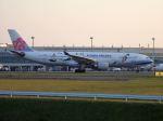 北の熊さんが、新千歳空港で撮影したチャイナエアライン A330-302の航空フォト(写真)