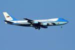 うめやしきさんが、横田基地で撮影したアメリカ空軍 VC-25A (747-2G4B)の航空フォト(写真)
