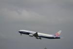 みそらさんが、台湾桃園国際空港で撮影したチャイナエアライン 777-309/ERの航空フォト(飛行機 写真・画像)