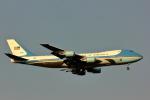 げんこつさんが、横田基地で撮影したアメリカ空軍 VC-25A (747-2G4B)の航空フォト(写真)