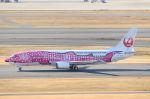 とらとらさんが、羽田空港で撮影した日本トランスオーシャン航空 737-446の航空フォト(飛行機 写真・画像)