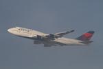 matsuさんが、ロサンゼルス国際空港で撮影したデルタ航空 747-451の航空フォト(写真)
