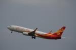 みそらさんが、台湾桃園国際空港で撮影した海南航空 737-84Pの航空フォト(飛行機 写真・画像)