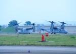 じーく。さんが、名古屋飛行場で撮影したアメリカ海兵隊 MV-22Bの航空フォト(飛行機 写真・画像)