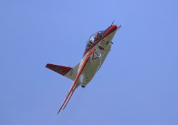 ふじいあきらさんが、防府北基地で撮影した航空自衛隊 T-4の航空フォト(写真)