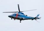 じーく。さんが、岡南飛行場で撮影した岡山県警察 A109E Powerの航空フォト(写真)