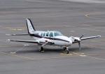 じーく。さんが、岡南飛行場で撮影した岡山航空 58 Baronの航空フォト(写真)