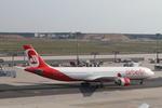matsuさんが、フランクフルト国際空港で撮影したエア・ベルリン A330-322の航空フォト(写真)