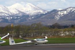 りんたろうさんが、たきかわスカイパークで撮影した日本個人所有 LS8-aの航空フォト(飛行機 写真・画像)