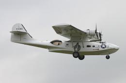 りんたろうさんが、コスフォード空軍基地で撮影したイギリス個人所有 PBY-5A Catalinaの航空フォト(飛行機 写真・画像)