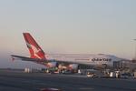 matsuさんが、ロサンゼルス国際空港で撮影したカンタス航空 A380-842の航空フォト(写真)