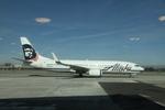 matsuさんが、ロサンゼルス国際空港で撮影したアラスカ航空 737-890の航空フォト(写真)