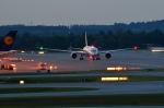 gomaさんが、ミュンヘン・フランツヨーゼフシュトラウス空港で撮影した全日空 787-9の航空フォト(飛行機 写真・画像)