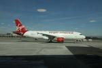 matsuさんが、ロサンゼルス国際空港で撮影したヴァージン・アメリカ A320-214の航空フォト(飛行機 写真・画像)