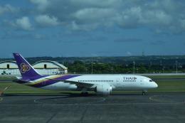 twinengineさんが、デンパサール国際空港で撮影したタイ国際航空 787-8 Dreamlinerの航空フォト(飛行機 写真・画像)