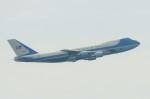raiden0822さんが、中部国際空港で撮影したアメリカ空軍 VC-25A (747-2G4B)の航空フォト(写真)