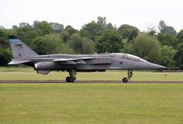 りんたろうさんが、コスフォード空軍基地で撮影したイギリス空軍 Jaguar T4の航空フォト(飛行機 写真・画像)