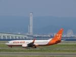 aquaさんが、関西国際空港で撮影したチェジュ航空 737-86Nの航空フォト(写真)