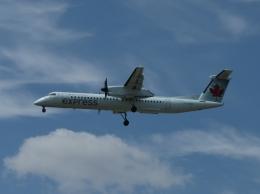aquaさんが、カルガリー国際空港で撮影したジャズ・エア DHC-8-402Q Dash 8の航空フォト(写真)