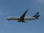 aquaさんが、カルガリー国際空港で撮影したウェストジェット 737-8CTの航空フォト(写真)