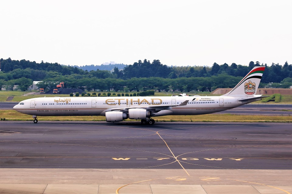 T.Sazenさんのエティハド航空 Airbus A340-600 (A6-EHK) 航空フォト