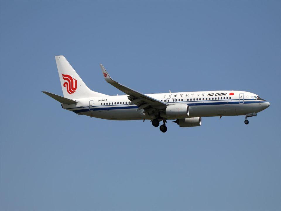 北の熊さんの中国国際航空 Boeing 737-800 (B-6106) 航空フォト