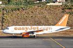 とらとらさんが、マデイラ空港で撮影したイージージェット A319-111の航空フォト(飛行機 写真・画像)