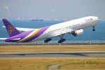 Kuuさんが、中部国際空港で撮影したタイ国際航空 777-3D7の航空フォト(飛行機 写真・画像)