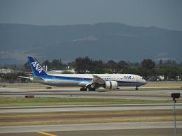 hana父さんが、ノーマン・Y・ミネタ・サンノゼ国際空港で撮影した全日空 787-9の航空フォト(飛行機 写真・画像)