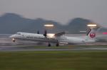 サボリーマンさんが、松山空港で撮影した日本エアコミューター DHC-8-402Q Dash 8の航空フォト(飛行機 写真・画像)