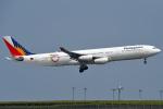 tsubasa0624さんが、羽田空港で撮影したフィリピン航空 A340-313Xの航空フォト(写真)