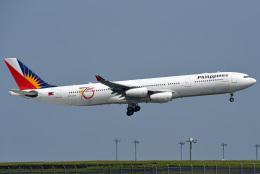 tsubasa0624さんが、羽田空港で撮影したフィリピン航空 A340-313Xの航空フォト(飛行機 写真・画像)