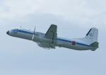じーく。さんが、米子空港で撮影した航空自衛隊 YS-11A-402Pの航空フォト(飛行機 写真・画像)