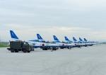 じーく。さんが、米子空港で撮影した航空自衛隊 T-4の航空フォト(写真)