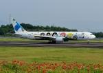 じーく。さんが、高松空港で撮影した全日空 767-381の航空フォト(飛行機 写真・画像)