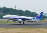 じーく。さんが、高松空港で撮影した全日空 A320-211の航空フォト(飛行機 写真・画像)