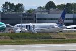 romyさんが、ペインフィールド空港で撮影したユナイテッド航空 787-9の航空フォト(写真)