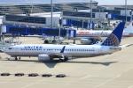 Kuuさんが、中部国際空港で撮影したユナイテッド航空 737-824の航空フォト(飛行機 写真・画像)