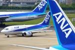 Kuuさんが、福岡空港で撮影したANAウイングス 737-54Kの航空フォト(飛行機 写真・画像)