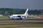 T.Sazenさんが、成田国際空港で撮影したヴォルガ・ドニエプル航空 An-124-100 Ruslanの航空フォト(飛行機 写真・画像)