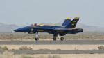小弦さんが、フォックス飛行場で撮影したアメリカ海軍 F/A-18C Hornetの航空フォト(写真)