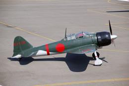 triton@blueさんが、岡南飛行場で撮影したゼロエンタープライズ Zero 22/A6M3の航空フォト(飛行機 写真・画像)